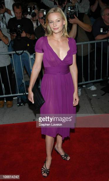 Samantha Mathis during Garden State New York Premiere Outside Arrivals at Chelsea Clearview Cinemas in New York City New York United States