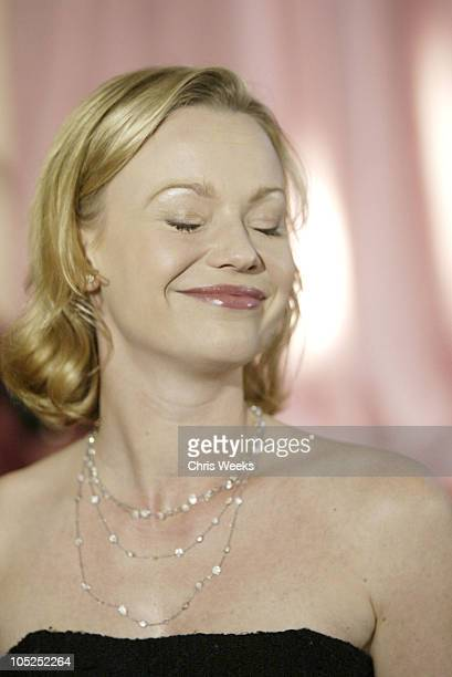 Samantha Mathis during InStyle Sneak Peek at Red Carpet Fashion for The 2004 Awards Season at Beverly Hills Hotel in Beverly Hills California United...