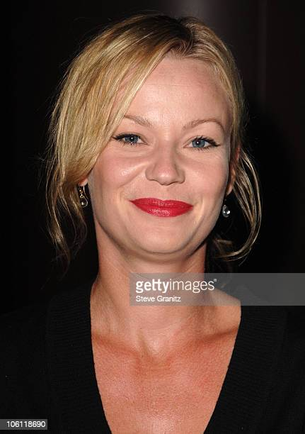 Samantha Mathis during The Departed Los Angeles Screening at The Director's Guild in West Hollywood California United States
