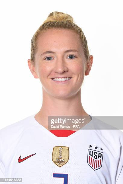 Samantha Mewis of the USA poses for a portrait during the official FIFA Women's World Cup 2019 portrait session at Best Western Premier Hotel de la...