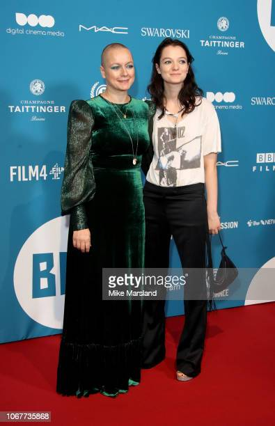 Samantha Morton and daughter Esme CreedMiles attend the 21st British Independent Film Awards at Old Billingsgate on December 2 2018 in London England