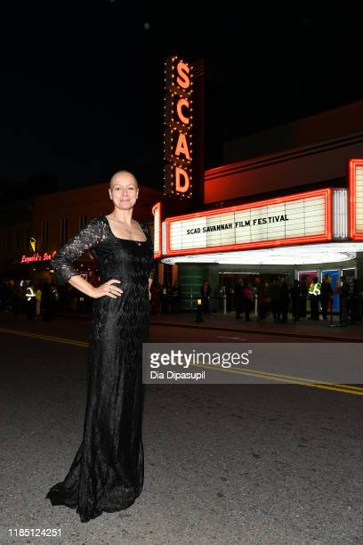 Samantha Morton attends the closing night of the 22nd SCAD Savannah Film Festival on November 02, 2019 at Trustees Theater in Savannah, Georgia.