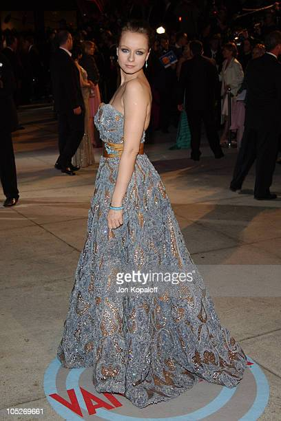 Samantha Morton during 2004 Vanity Fair Oscar Party at Mortons in Beverly Hills California United States