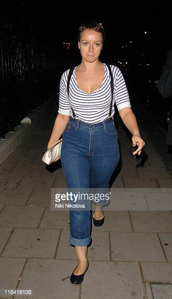 Samantha Morton during 2006 White Cube Party at Claridges in London Great Britain