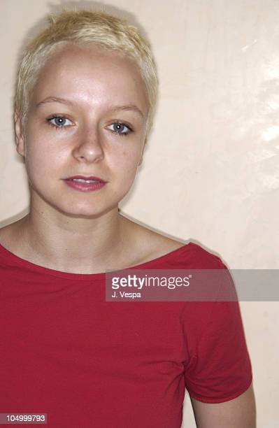 Samantha Morton during Cannes 2002 'Morvern Callar' Portraits at Hotel Resideal in Cannes France