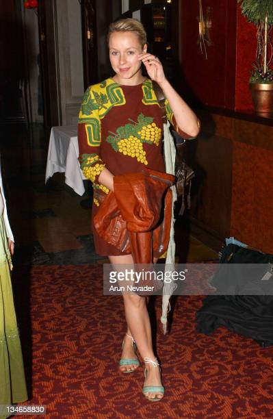 Samantha Morton during CineVegas Film Festival 2005 Filmmakers Brunch and Awards at Postrio Restaurant in Las Vegas Nevada United States