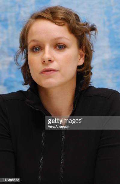 Samantha Morton during 'In America' Press Conference with Djimon Hounsou Paddy Considine Samantha Morton and Jim Sheridan at Four Season Hotel in...