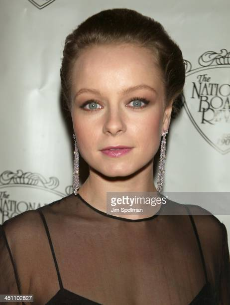 Samantha Morton during National Board of Review of Motion Pictures 2003 Annual Awards Gala at Tavern on the Green in New York City New York United...
