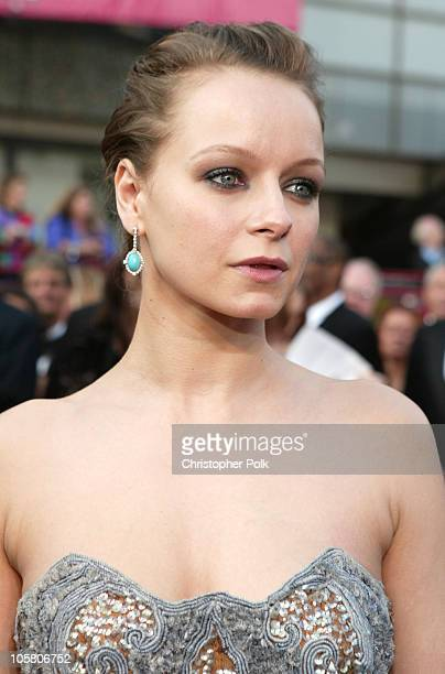 Samantha Morton during The 76th Annual Academy Awards Arrivals by Chris Polk at Kodak Theatre in Hollywood California United States