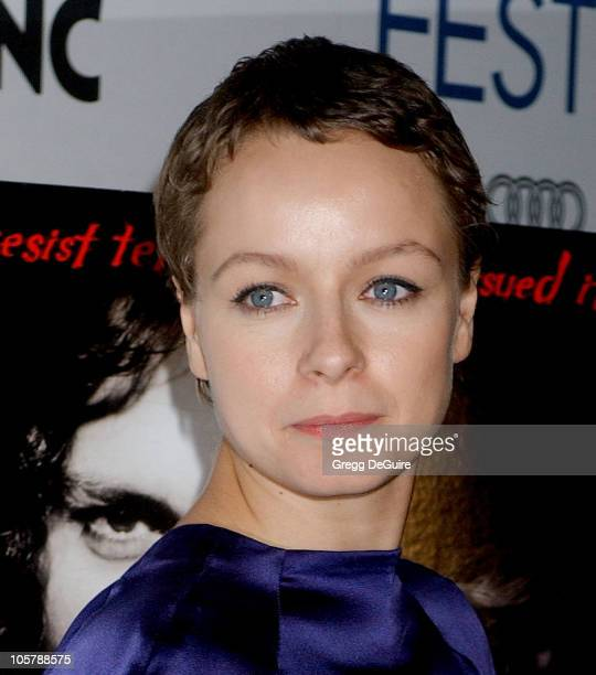 Samantha Morton during The Weinstein Company's 'The Libertine' World Premiere Screening Arrivals at ArcLight Hollywood in Hollywood California United...