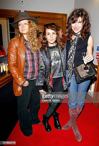 Samantha Morton, Noomi Rapace and Jess Morris attend as Dazed & Confused presents Ray-Ban's 75th Anniversary celebration with Primal Scream and Kim...