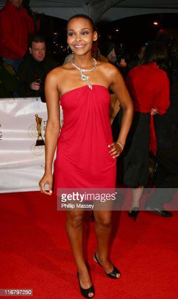 Samantha Mumba during 2007 Irish Film and Television Awards Red Carpet Arrivals at RDS in Dublin Ireland