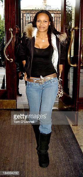 Samantha Mumba during Childline Charity Breakfast at Berkerley Court Hotel in Dublin Ireland