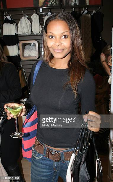 Samantha Mumba during Samantha Mumba Shops Topshop VIP Viewing November 10 2005 at Topshop St Stephens Green in Dublin Ireland