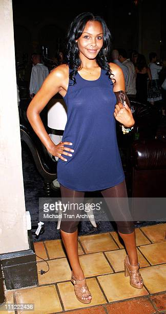Samantha Mumba during Thompson Media Presents 'LA Suite' World Premiere Party July 26 2006 at Hollywood Roosevelt Hotel in Hollywood California...