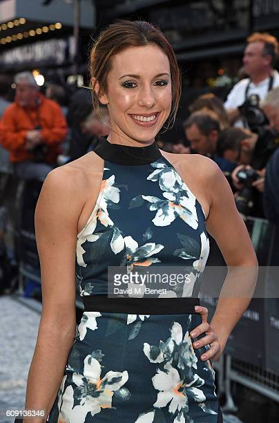 Samantha Murray attends the World Premiere of 'The Girl On The Train' at Odeon Leicester Square on September 20 2016 in London England