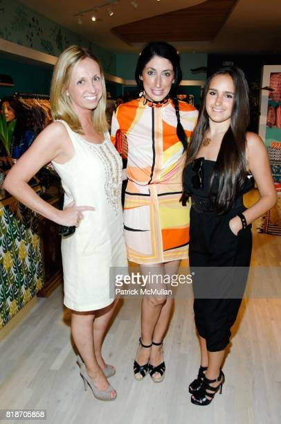 Samantha Ouellette Lauren Rae Levy and Kelli Tomashoff attend Tinsley Mortimer Hosts the Roberta Freymann East Hampton Boutique Grand Opening at...