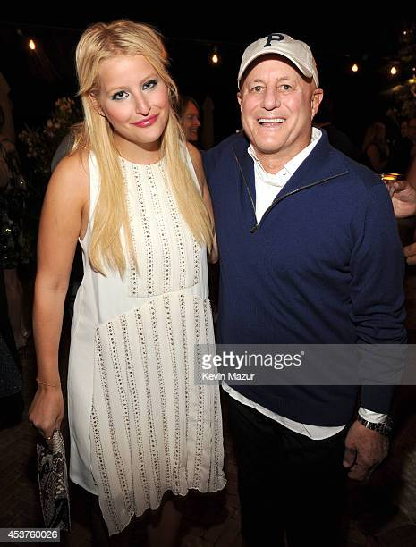 Samantha Perelman and Ron Perelman attend Apollo in the Hamptons at The Creeks on August 16 2014 in East Hampton New York