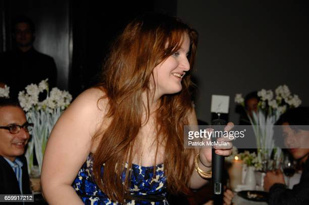 Samantha Perelman attends ACRIA 14th Annual Holiday Dinner presented by InStyle Magazine and Urban Zen at Stephan Weiss Studio on December 9 2009 in...