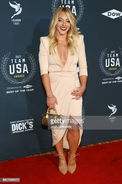 Samantha Peszek attends the 2017 Team USA Awards on November 29 2017 in Westwood California