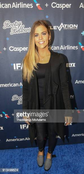Samantha Ponder attends Inside the Game QA presented by IFA on February 2 2018 in Minneapolis Minnesota
