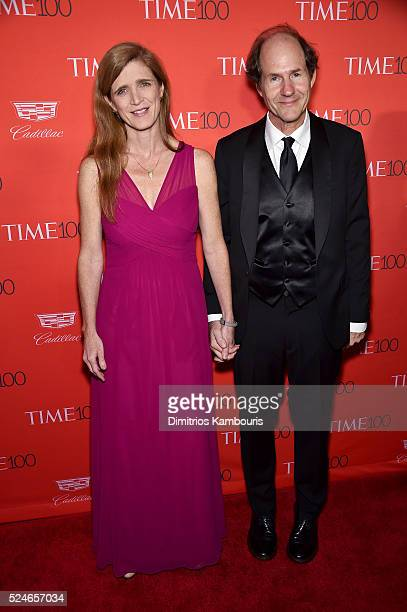Samantha Power attends 2016 Time 100 Gala Time's Most Influential People In The World red carpet at Jazz At Lincoln Center at the Times Warner Center...