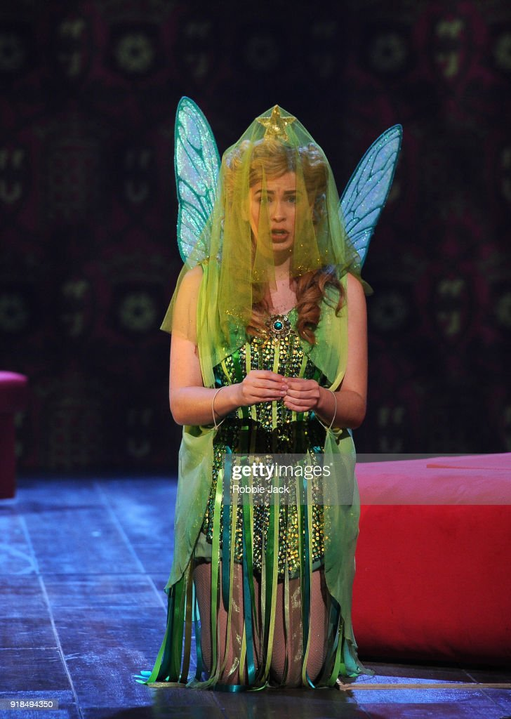 Samantha Price as Iolanthe in English National Opera's production of Gilbert and Sullivan's Iolanthe directed by Cal McCrystal and conducted by Timothy Henty at The London Coliseum on February 12, 2018 in London, England.
