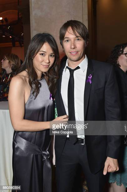 Samantha Quan and director Sean Baker attend IFP's 27th Annual Gotham Independent Film Awards on November 27 2017 in New York City