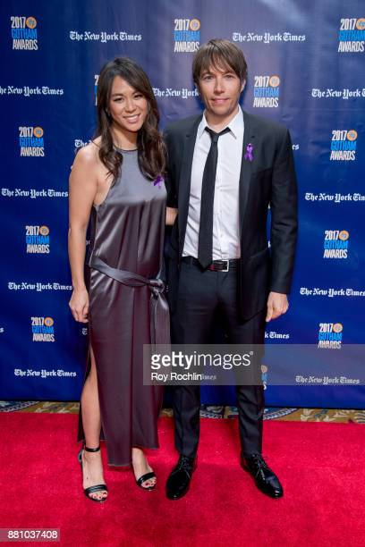 Samantha Quan and Sean Baker attend the 2017 IFP Gotham Awards at Cipriani Wall Street on November 27 2017 in New York City