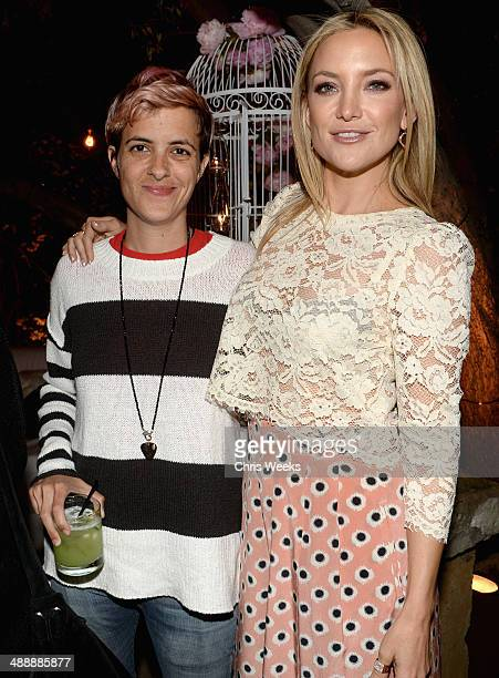 Samantha Ronson and actress Kate Hudson attend Chrome Hearts Kate Hudson Host Garden Party To Celebrate Collaboration at Chrome Hearts on May 8 2014...