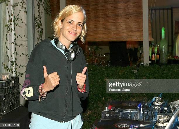 """Samantha Ronson during Maroon 5 Launches Their Book """"Midnight Miles"""" at Miau Haus Art Studio in Los Angeles, California, United States."""