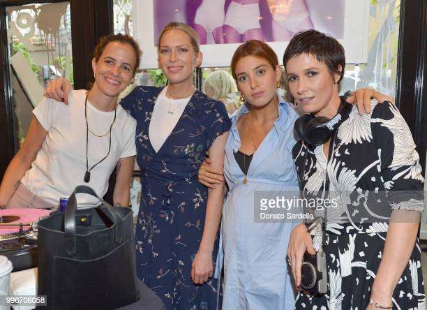 Samantha Ronson Erin Foster Jamie Mizrahi and Founder of VIOLET GREY Cassandra Grey attend Beats by Dre for VIOLET GREY Party on July 11 2018 in Los...