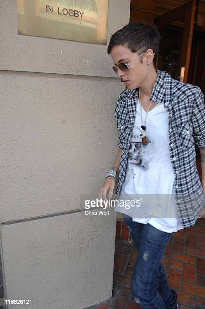 DJ Samantha Ronson sighting on May 18 2009 in Beverly Hills California