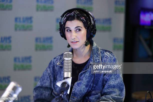 Samantha Rosalie speaks as cohost Medha Gandhi joins The Elvis Duran Z100 Morning Show at Z100 Studio on September 17 2018 in New York City