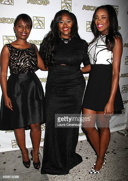 Samantha Selolwane Jazmine Sullivan and DJ Kiss attend the 6th Annual ASCAP Women Behind The Music Series at Toshi's Living Room at The Flatiron...