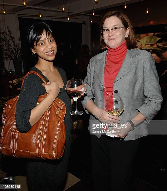 Samantha Senevirhene and Carol Degener attend the Bethenny Frankel presents Pepperidge Farm Baked Naturals at the Luxe Laboratory in New York on...