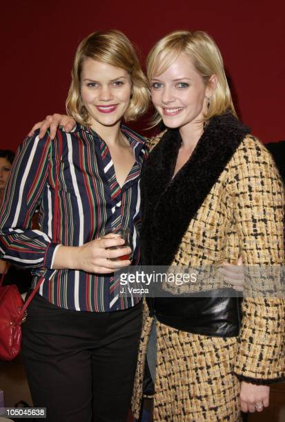 d1d7c4599984 Samantha Shelton and Marley Shelton during Miu Miu Party for IFP Los  Angeles Filmmaker Labs at