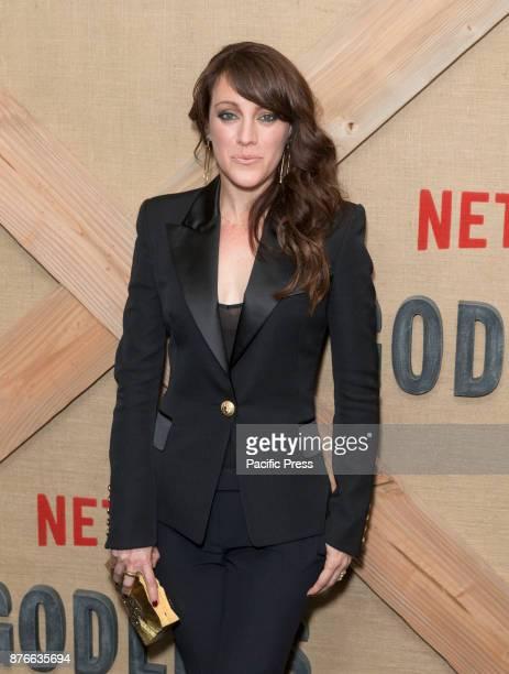 Samantha Soule attends Netflix Godless premiere at Metrograph