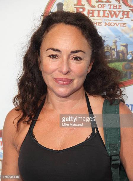 Samantha Spiro attends VIP Screening of Thomas & Friends: King Of The Railway at Vue Leicester Square on August 18, 2013 in London, England.