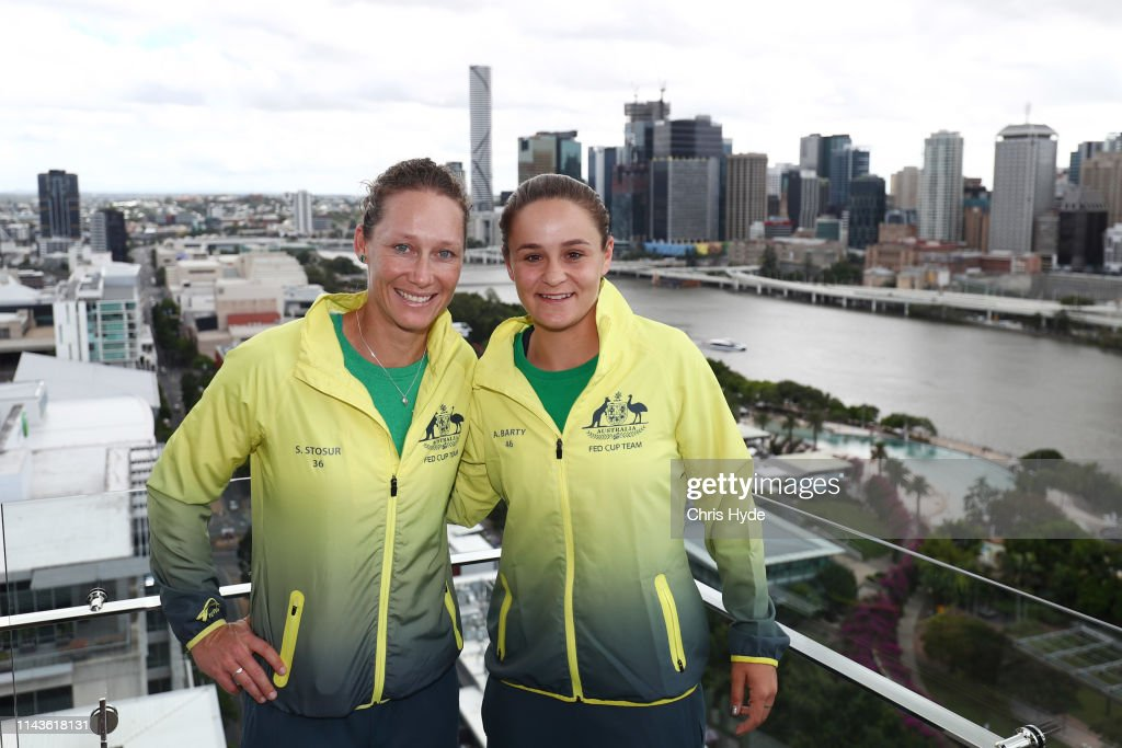 AUS: Fed Cup World Group Semi Final - Australia v Belarus: Media Opportunity