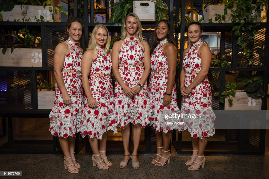 Official Dinner: Australia v Netherlands - Fed Cup World Group Play-off