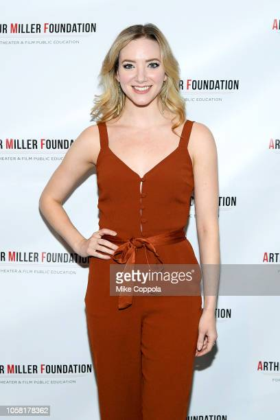 Samantha Sturm attends the 2018 Arthur Miller Foundation Honors at City Winery on October 22 2018 in New York City