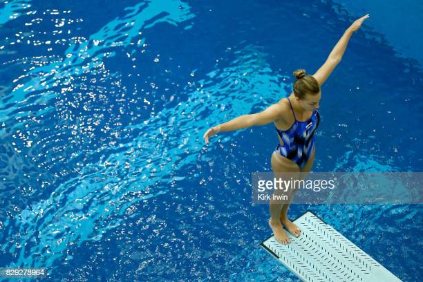 Samantha Tamborski of the Mile High Dive Club competes during the Senior Women's 3m Springboard Preliminary during the 2017 USA Diving Summer...
