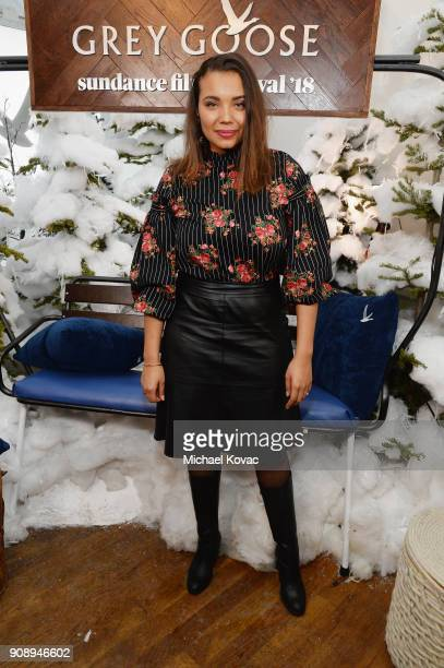 Samantha Tanner attends as Grey Goose Blue Door hosts the casts of gamechanging films during the Sundance Film Festival at The Grey Goose Blue Door...