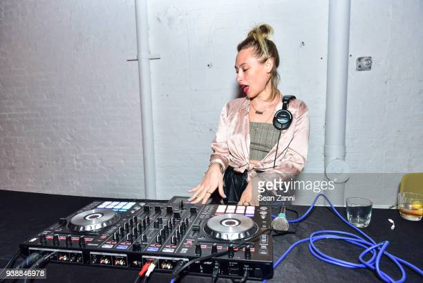 Samantha Urbani attends GUM Studios 3 Year Anniversary at Gum Studios on March 24 2018 in the Brooklyn borough of New York City DJ Samantha Urbani