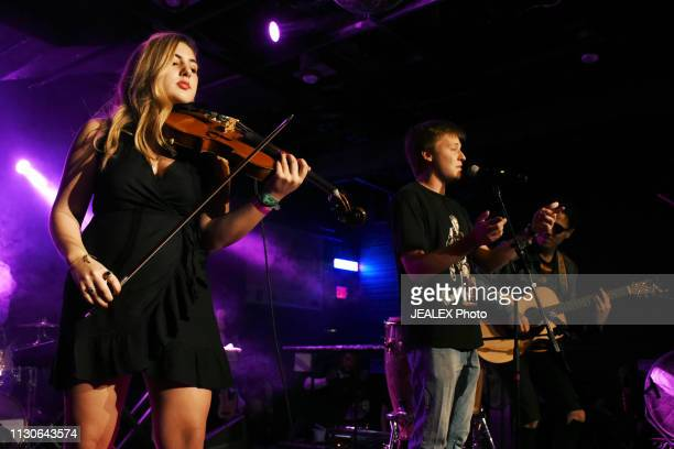 Samantha Uzbay and Freaky Pat perform onstage at HEADS Music during the 2019 SXSW Conference and Festivals on March 14 2019 in Austin Texas