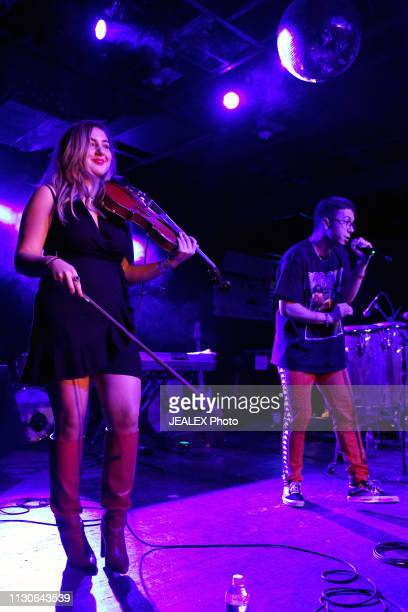 Samantha Uzbay and Kryptic perform onstage at HEADS Music during the 2019 SXSW Conference and Festivals on March 14 2019 in Austin Texas