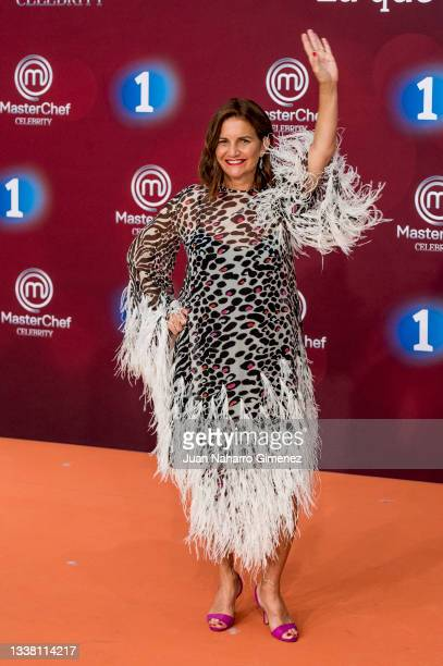 Samantha Vallejo-Nagera attends 'Masterchef Celebrity 6' photocall at Palacio de Congresos Europa during the FesTVal 2021 on September 03, 2021 in...