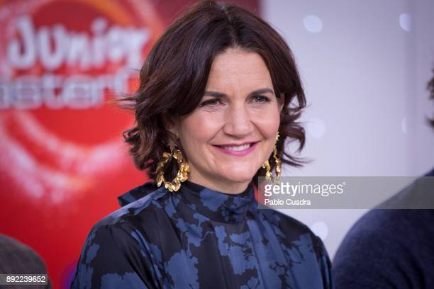 Samantha VallejoNagera attends the presentation of a new seson of 'Masterchef Junior' at TVE studios on December 14 2017 in Madrid Spain