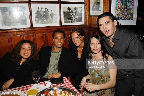 Samantha Vincent Dr Gregory Alfred and attend Premiere of Sidney Lumet's FIND ME GUILTY after Party at Gallagher's Steakhouse on March 14 2006 in New...